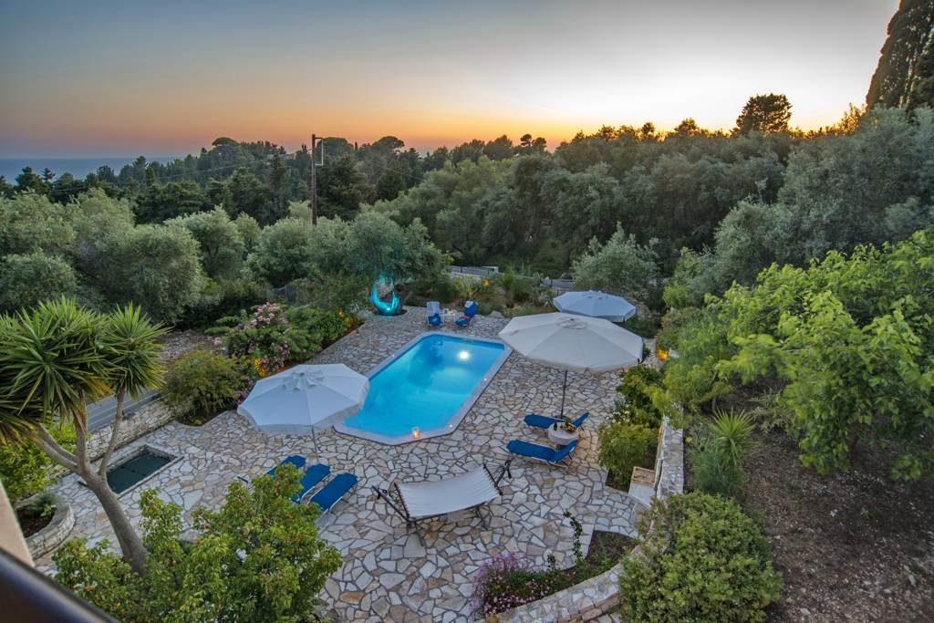 Villa Galazio Sunset - Paxos Villas to Rent for Holiday